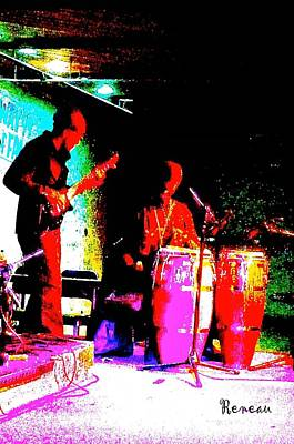 Photograph - Bass And Congas by Sadie Reneau