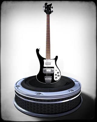 Digital Art - Bass Desplay V1 by Frederico Borges