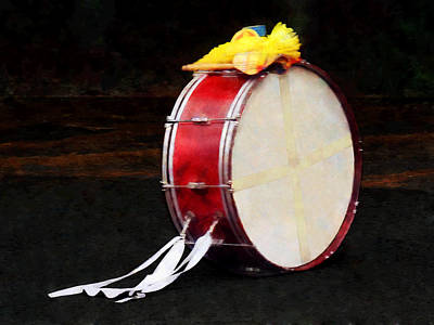 Bass Drums Photograph - Bass Drum At Parade by Susan Savad