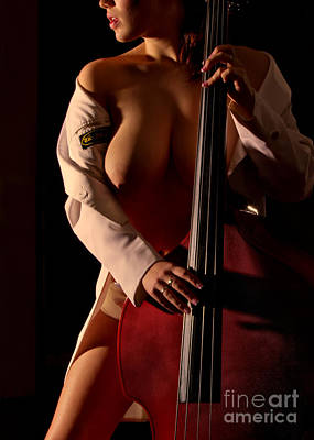 Double Bass Photograph - Bass by Exposed Arts
