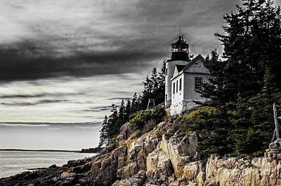 Photograph - Bass Harbor 2 by Jim McCain
