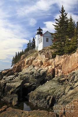 Photograph - Bass Harbor Head Light 2 by Karin Pinkham