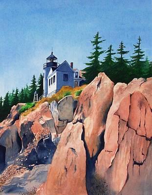 Bass Harbor Head Light Art Print