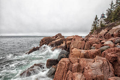 Photograph - Bass Harbor Head Light by Sara Hudock