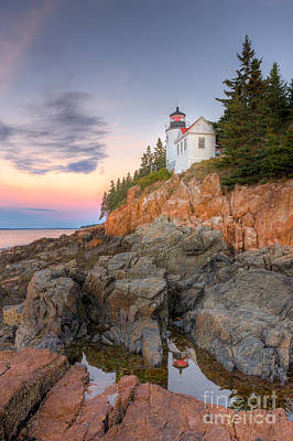 Photograph - Bass Harbor Head Light V by Clarence Holmes