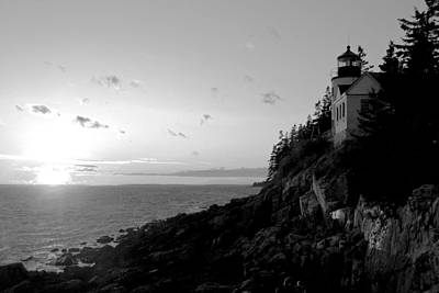 Photograph - Bass Harbor Head Lighthouse II by Daniel Woodrum