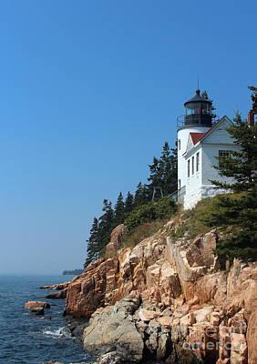 National Park Photograph - Bass Harbor Head Lighthouse by Kathleen Garman
