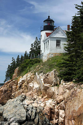Bass Harbor Light Art Print by Acadia Photography