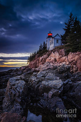 Photograph - Bass Harbor Light by Brian Jannsen