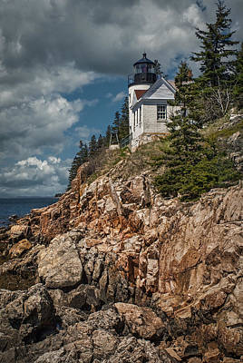 Photograph - Bass Harbor Light by Fred LeBlanc