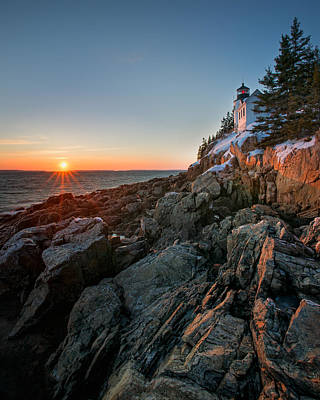 Photograph - Bass Harbor Lighthouse by Darylann Leonard Photography
