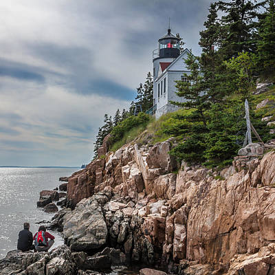 Landscape Photograph - Bass Harbor Lighthouse by Erwin Spinner