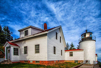 Photograph - Bass Harbor Lighthouse by Jim McCain