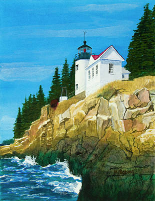 Bass Harbor Lighthouse Art Print