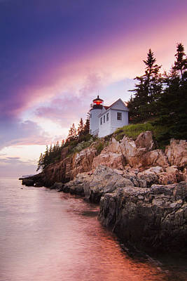 Laval Photograph - Bass Harbor Lighthouse by Mircea Costina Photography