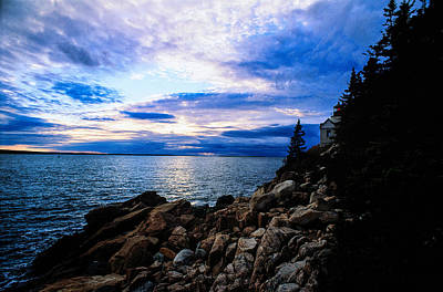Sunset Photograph - Bass Harbor Sunset by Jeremy Herman