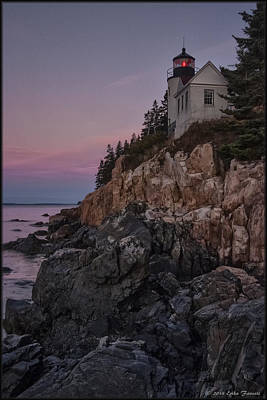 Photograph - Bass Head Lighthouse Sunrise by Erika Fawcett