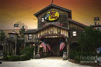 Photograph - Bass Pro Shop by Donna Brown