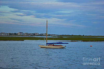 Photograph - Bass River Sailboat by Amazing Jules