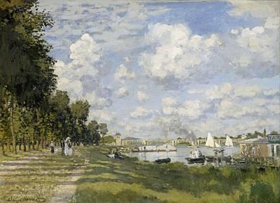 Bassin Painting - Bassin D'argenteuil by Claude Monet