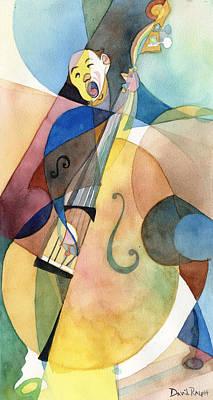 Painting - Bassline by David Ralph