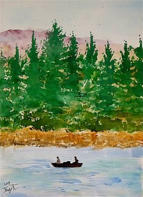 Basswood Lake Original by Troy Thomas