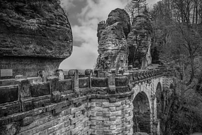 Dresden Photograph - Bastei by Shirley Radabaugh