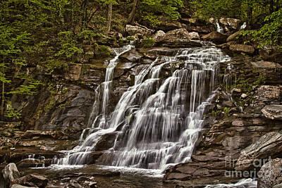 Photograph - Bastion Falls - Catskills by Vicki DeVico