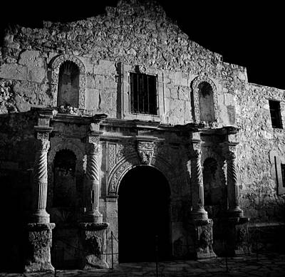 The Alamo Photograph - Bastion Of Legends by Mountain Dreams
