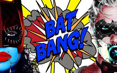 Nirvana - Bat Bang Theory by Jan Raphael