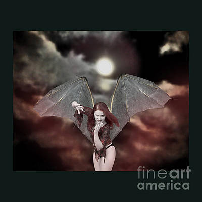 Photograph - Bat-winged Beauty  by Andrew Govan Dantzler