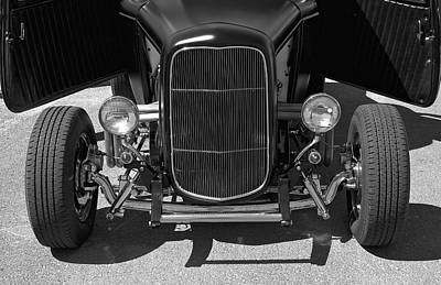 Photograph - Bat Wings - Ford Coupe by Jane Eleanor Nicholas