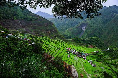 Batad Rice Terraces, Part Of The World Art Print by Michael Runkel