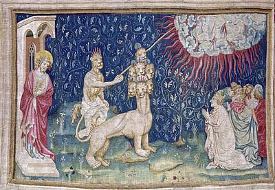 Tapestries Textiles Photograph - Bataille, Nicolas 14th C.. He Beast by Everett