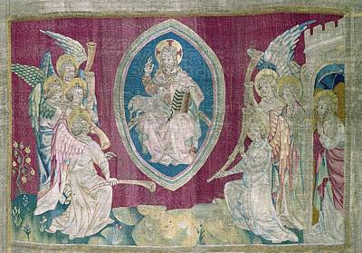 Tapestries Textiles Photograph - Bataille, Nicolas 14th C.. Seventh Seal by Everett