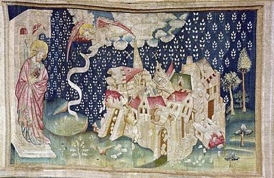 Tapestries Textiles Photograph - Bataille, Nicolas 14th C.. The Second by Everett