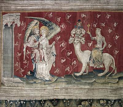 Tapestries Textiles Photograph - Bataille, Nicolas 14th C.. The Whore by Everett