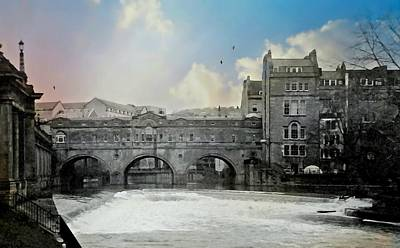 Photograph - Bath England by Diana Angstadt