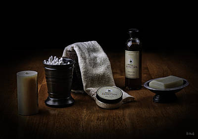 Photograph - Bath Gear by PhotoWorks By Don Hoekwater