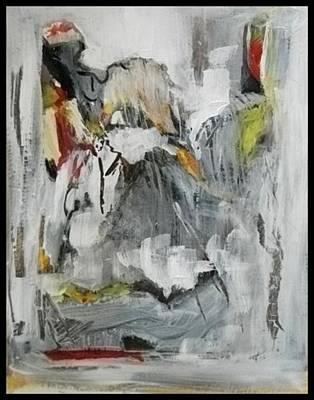 Painting - Bath Sheeba by John L Campbell
