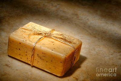 Photograph - Bath Soap by Olivier Le Queinec