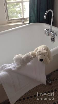 Photograph - Bath Time Too by Susan Garren