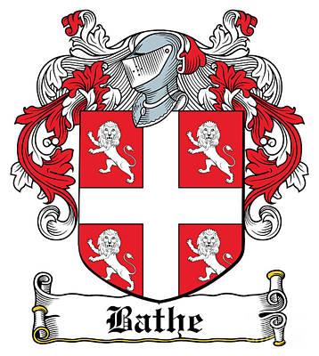 Bathe Digital Art - Bathe Coat Of Arms Irish by Heraldry