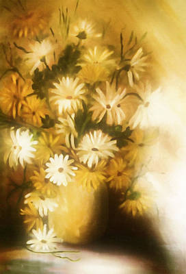Painting - Bathed In White Light by Georgiana Romanovna