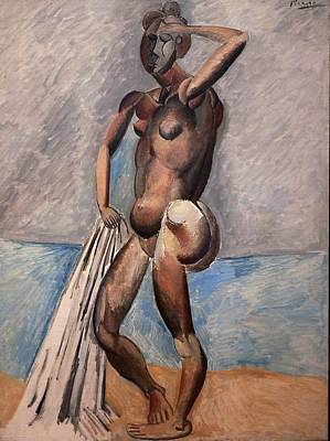 Bather Art Print by Pablo Picasso