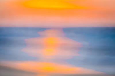Bathing Corp Sunrise 3 Print by Ryan Moore