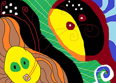 Painting - Dialogos by Anita Dale Livaditis