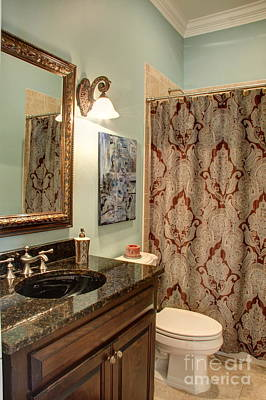 Photograph - Bathroom by Jonathan Harper