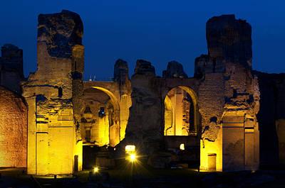 Photograph - Baths Of Caracalla by Fabrizio Troiani