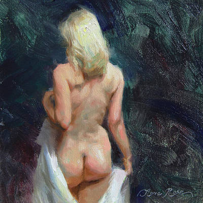 Blonde Painting - Bathsheba by Anna Rose Bain